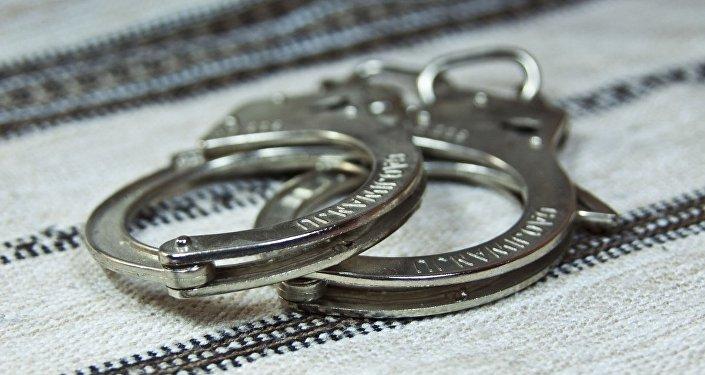арест задержание заключение наручники