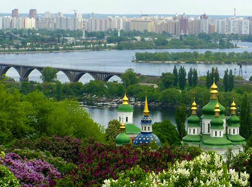 Киев, столица Украины