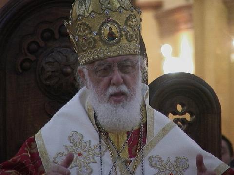 Каталикос-Патриарх Всея Грузии Илиа Второй