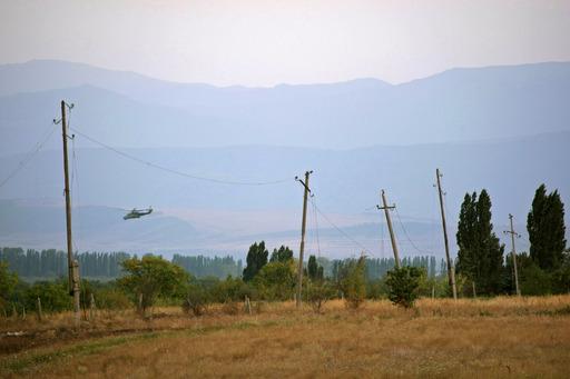 Бывшая зона разграничения между осетинской и грузинской стороной. Цхинвали.