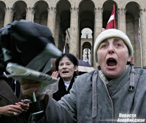 акция оппозиции, Тбилиси