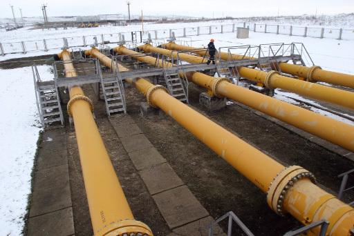 Участок газопровода