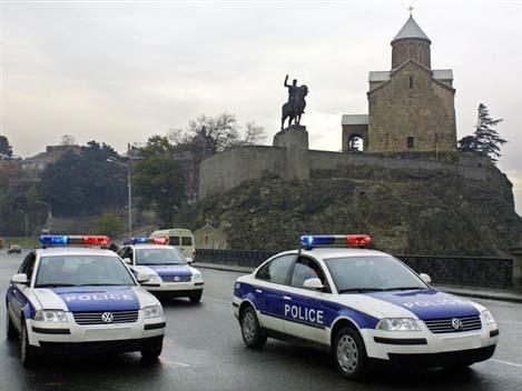 полиция, Тбилиси