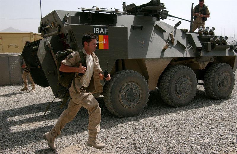 ISAF, Афганистан