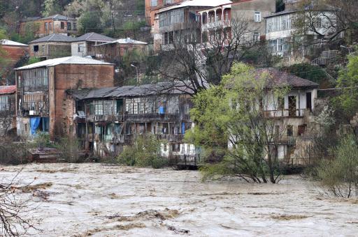 наводнение в Кутаиси