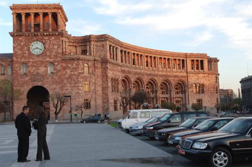 Ереван. Дом правительства Армении.