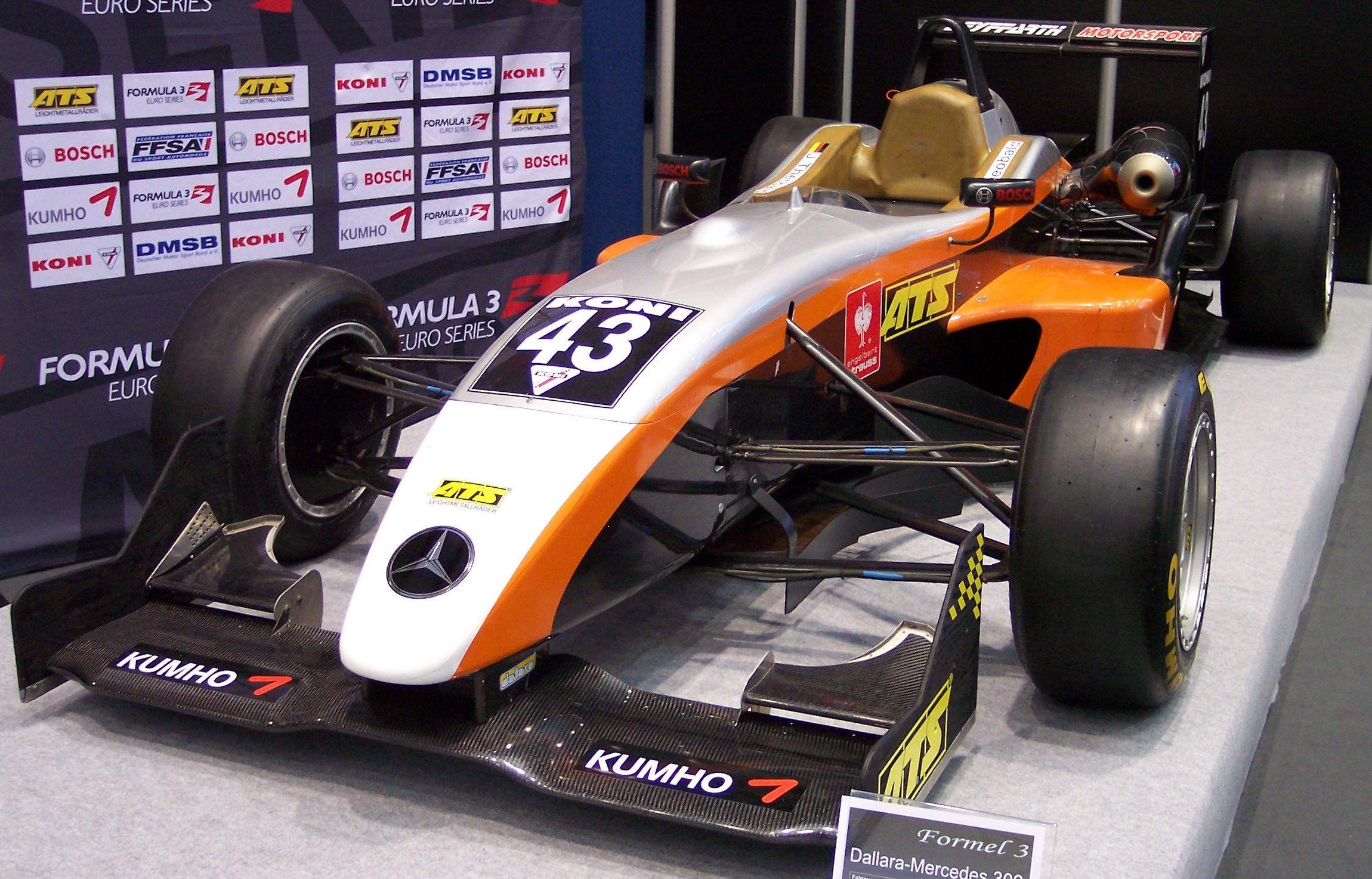 Формула, автогонки