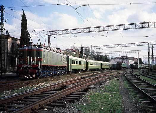 железная дорога, пассажирский поезд