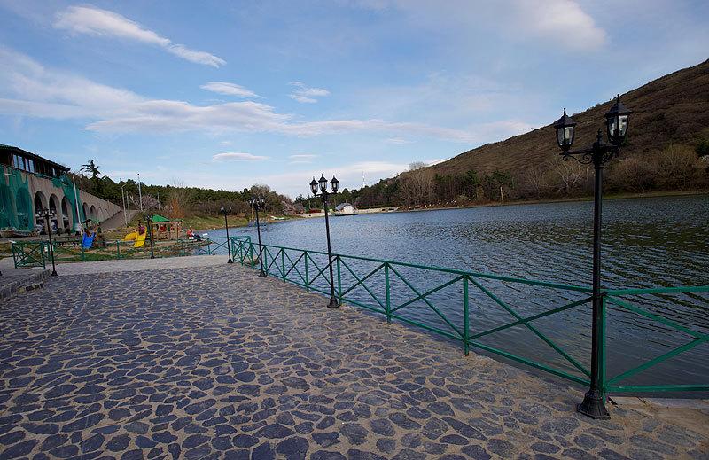 Черепашье озеро, Тбилиси, весна