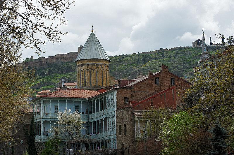 старый Тбилиси, весна