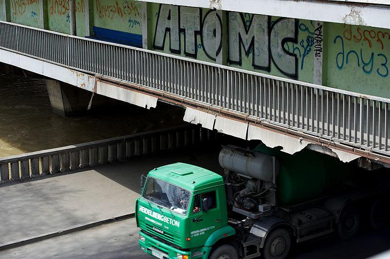 грузовая автомашина КАМАЗ, Тбилиси