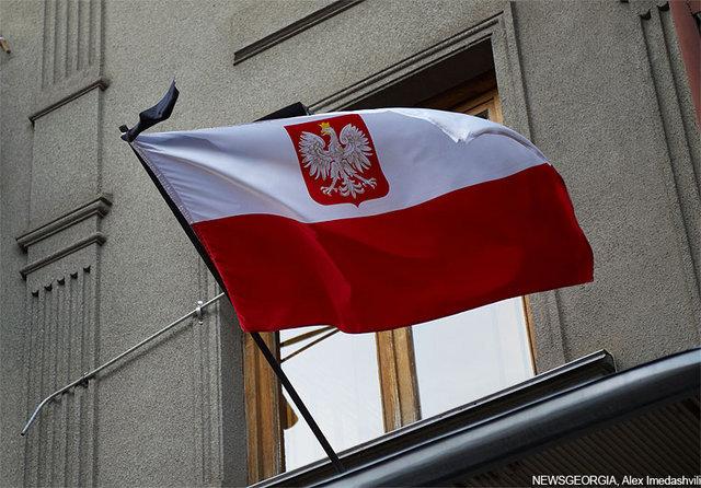 Посольство Польши, объявлен траур в связи с гибелью Качиньского.