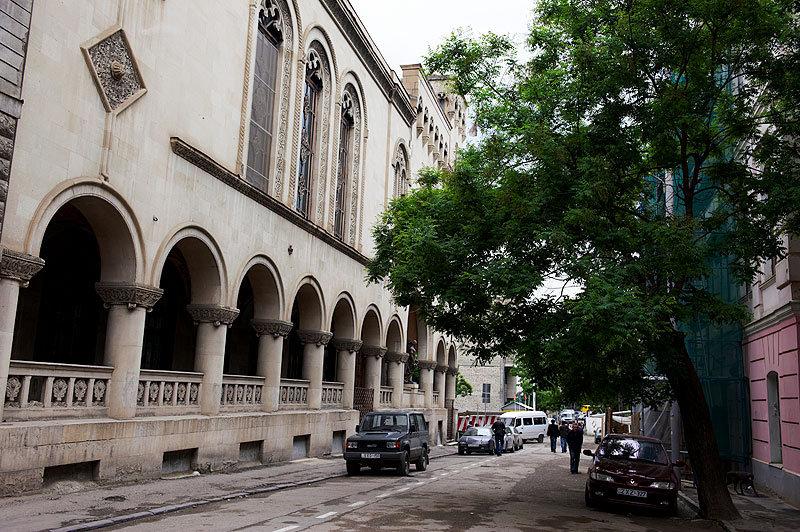 Национальная библиотека, Тбилиси