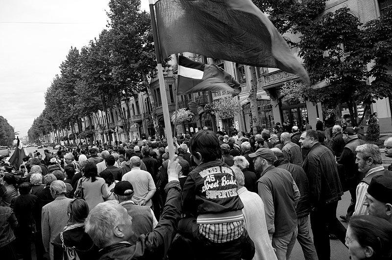 шествие оппозиции к Верховному суду