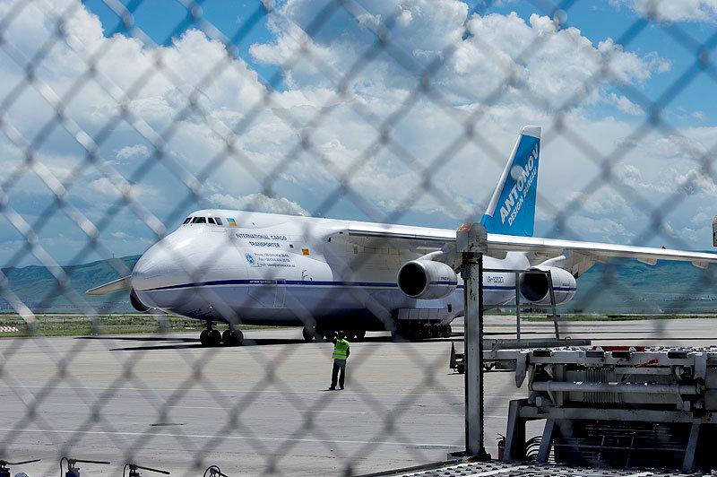 грузовой самолет, Тбилисский аэропорт