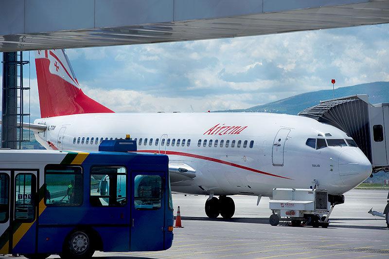 самолет авиакомпании Airzena