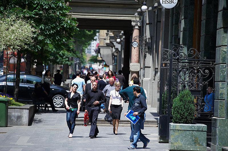Тбилиси, улицы, люди