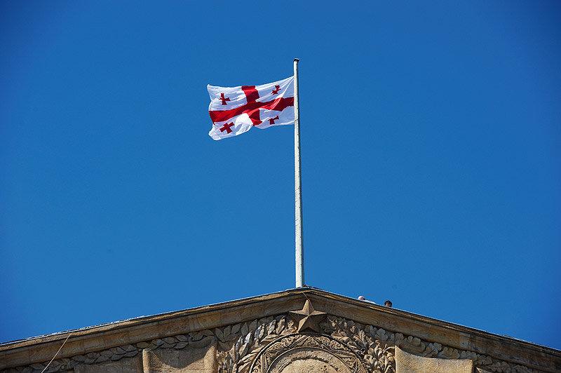 Флаг Грузии, парламент