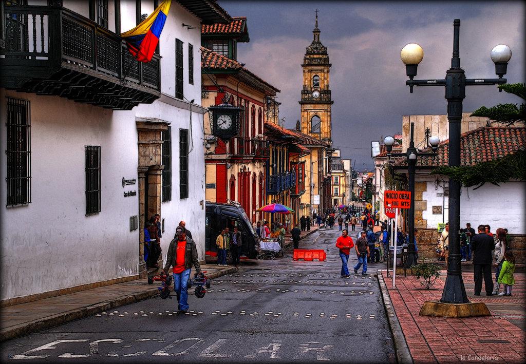 Богота - столица Колумбии