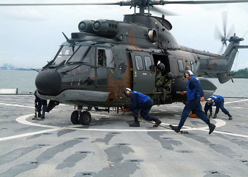 вертолет Super Puma