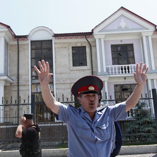Киргизия, попытки МВД остановить беспорядки
