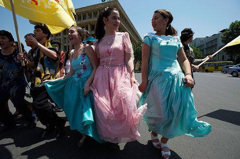 парад на Фестивале пива