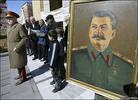 Последователи Сталина на акции в Гори, архив