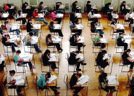 Приемные экзамены - заставка