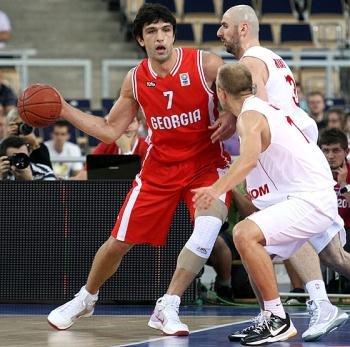 Баскетболист Заза Пачулия