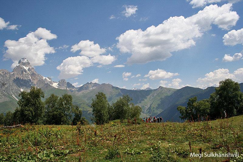 горы, Сванетия