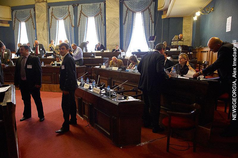 зал Ильи Чавчавадзе, парламент