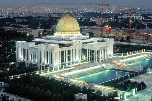 президентский дворец, Ашхабад, Туркменистан
