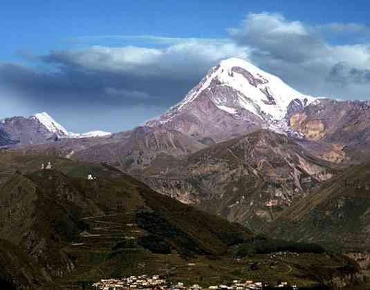 Казбеги, горы