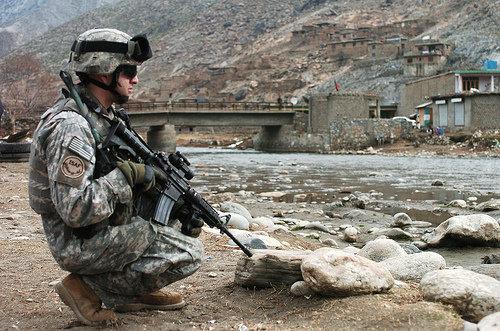 военная операция ISAF Афганистан