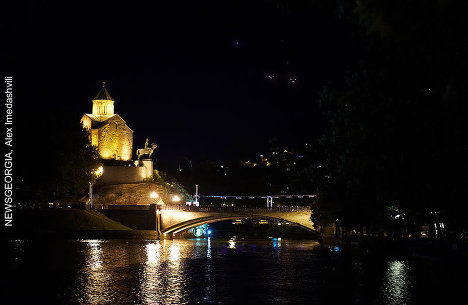 Метехский мост, Тбилиси