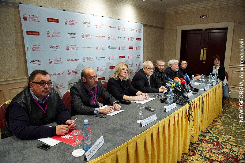 Фестиваль российского кино, пресс-конференция