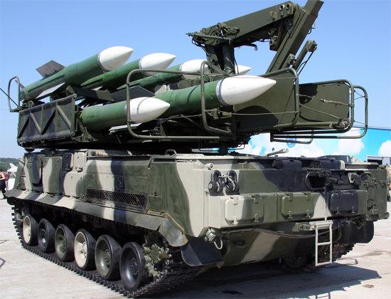 зенитно ракетный комплекс ЗРК Бук