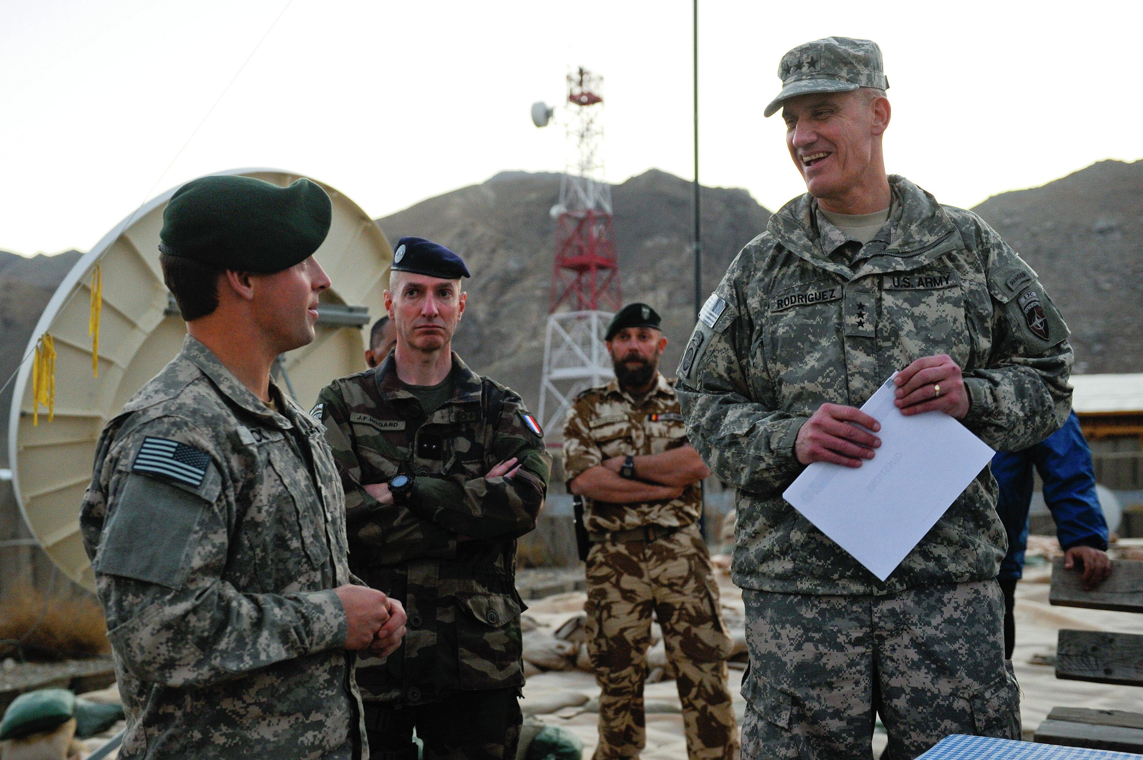 операция ISAF НАТО Афганистан