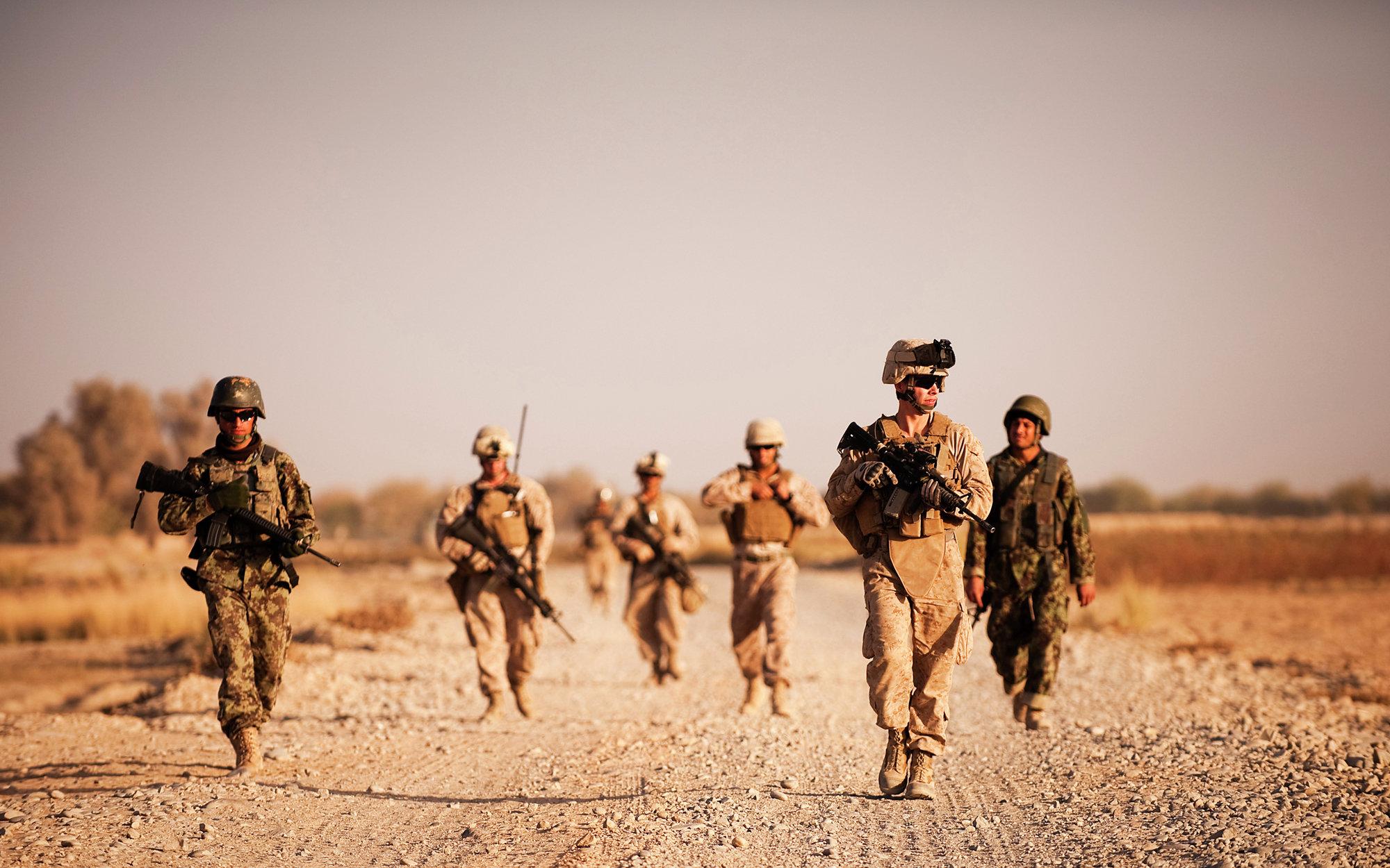 операция ISAF, НАТО, Афганистан, провинция Гельменд