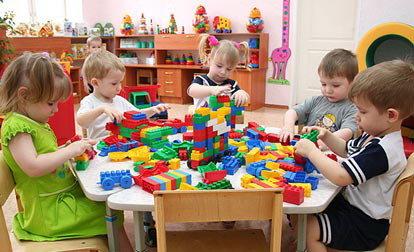 детский сад, дети