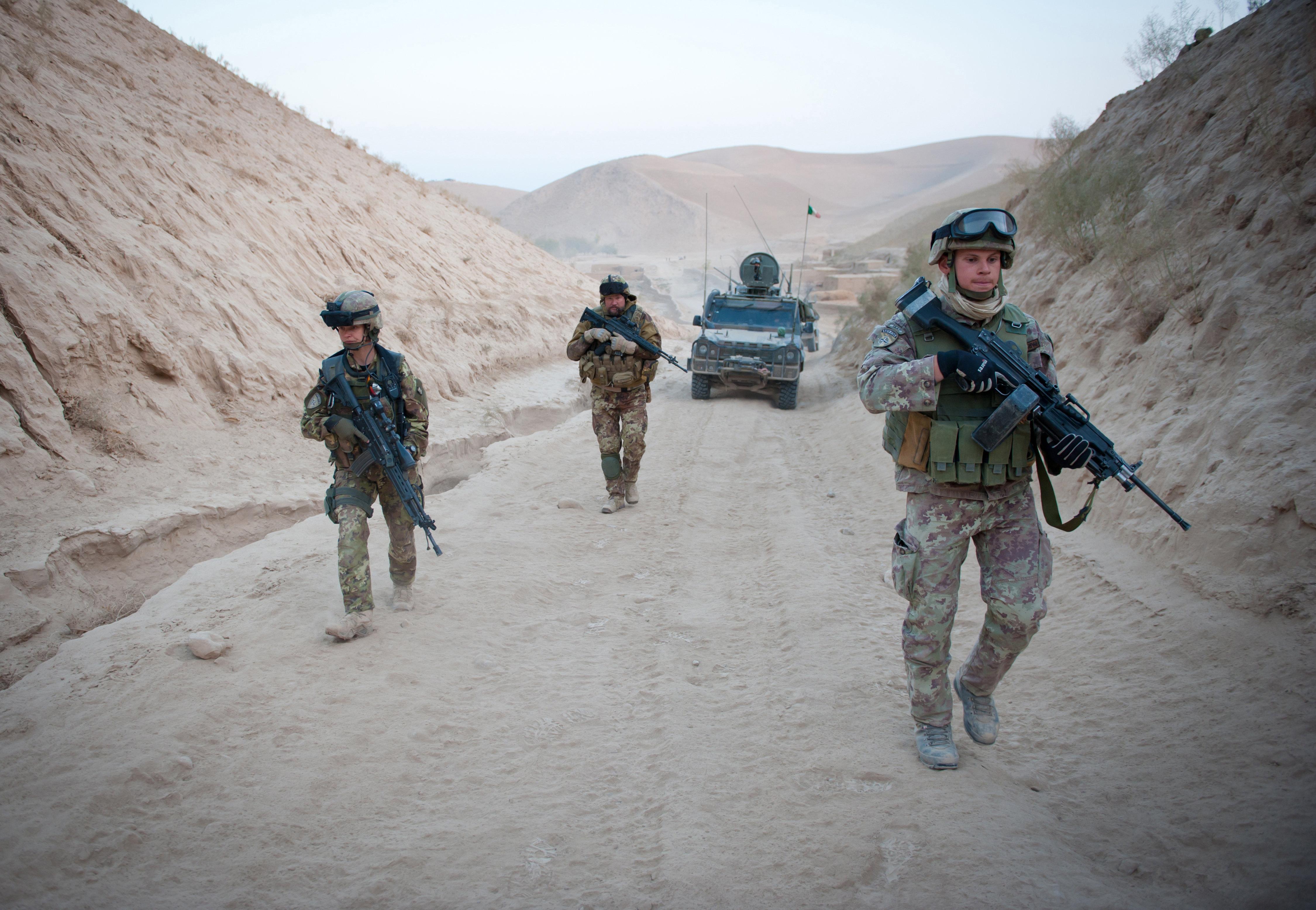 операция ISAF, НАТО, Афганистан