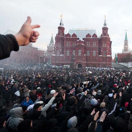 беcпорядки на Манежной площади, Москва