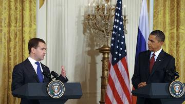 Дмитрий Медведев, Барак Обама
