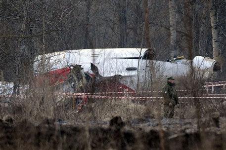крушение польского Ту-154