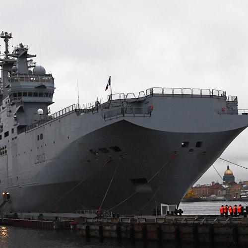 ВМС, военный корабль Мистраль