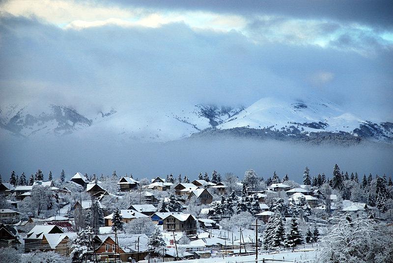 Бакуриани, горнолыжный курорт, горы