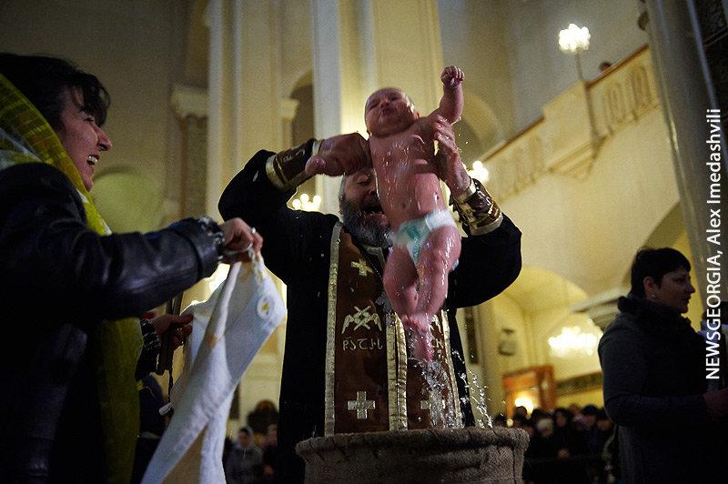 Крещение Собор Троицы