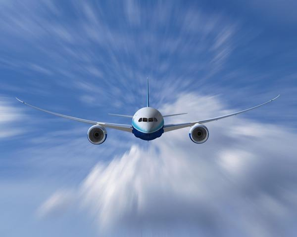 Boeing самолет авиалайнер