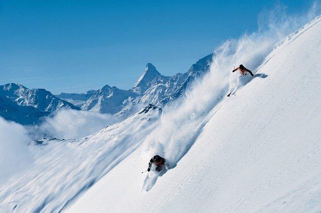 зимний горнолыжный спорт