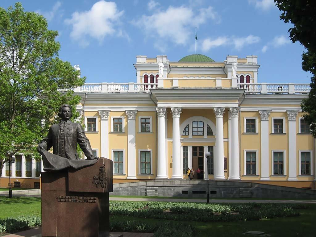 Гомель дворец Румянцевых